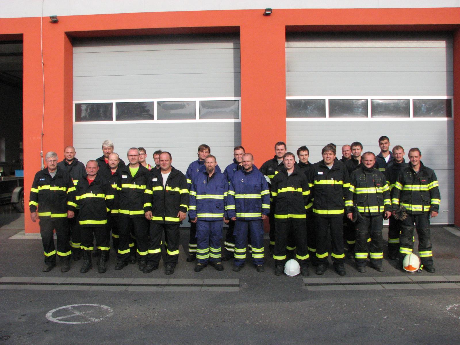 námětové cvičení sborů dobrovolných hasičů v okrsku Val.Meziříčí