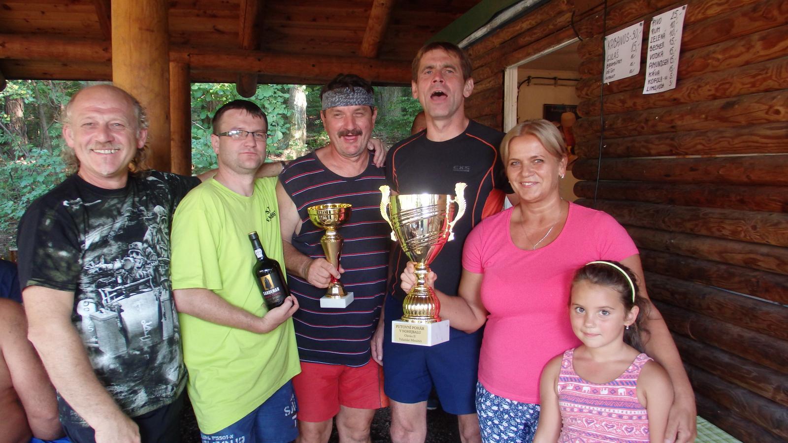 Lhota u Choryně - vítěz turnaje