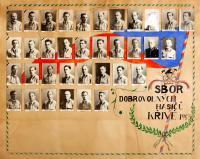 členové sboru v roce 1943